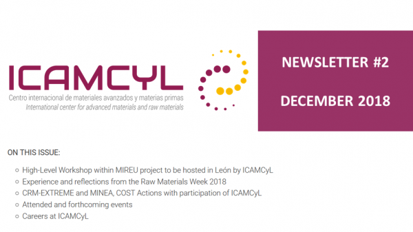 ICAMCyL Newsletter #2 - Raw Materials Week and upcoming MIREU high-level meeting
